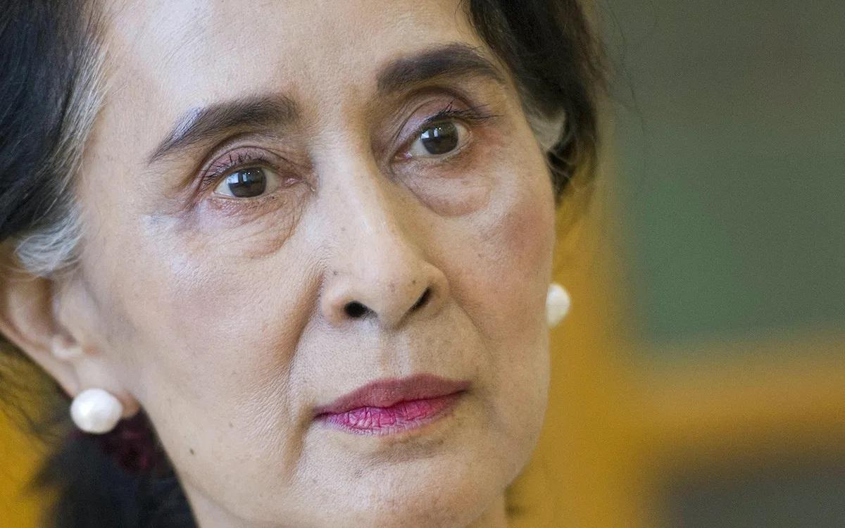 Thủ lĩnh phong trào dân chủ Myanmar, San Suu Kyi. Ảnh: AFP.