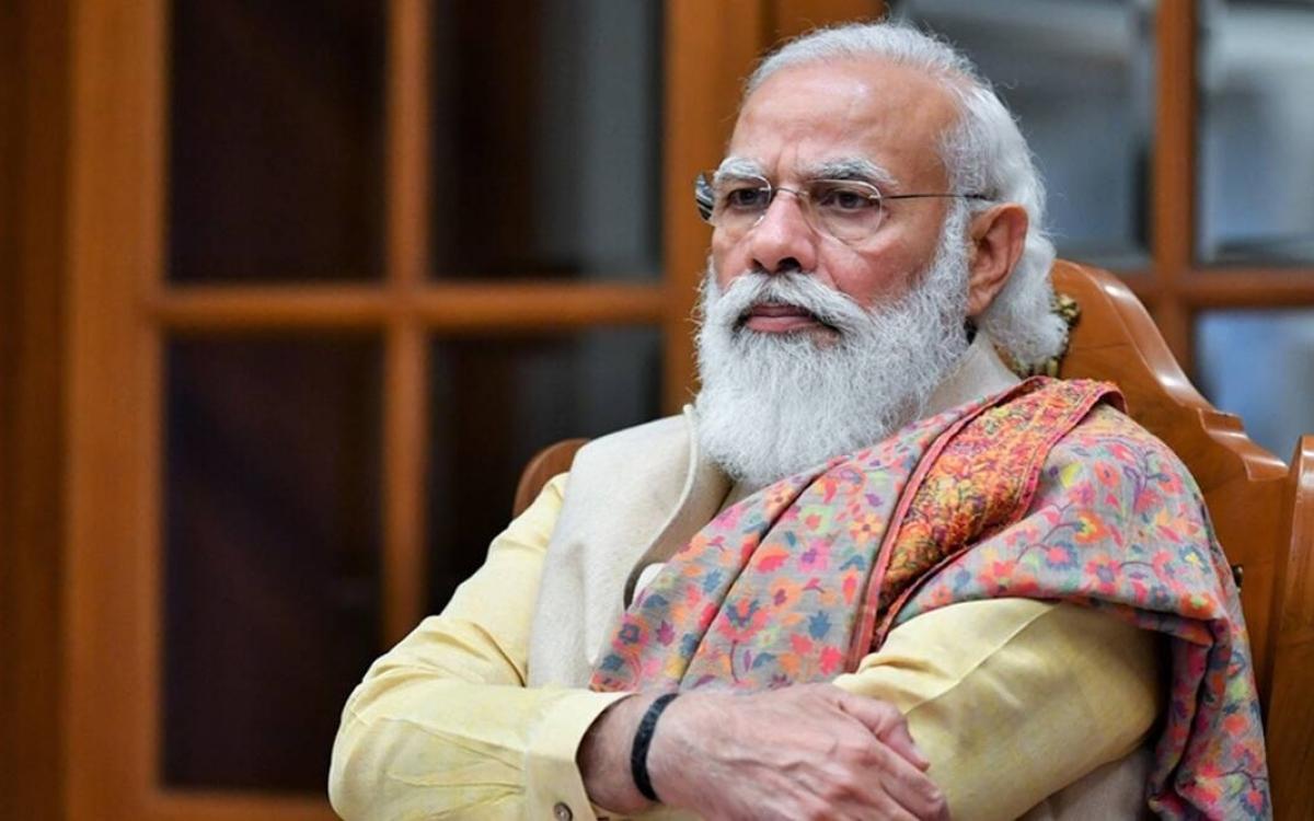 Thủ tướng Ấn Độ Modi. Ảnh: Indian Express.