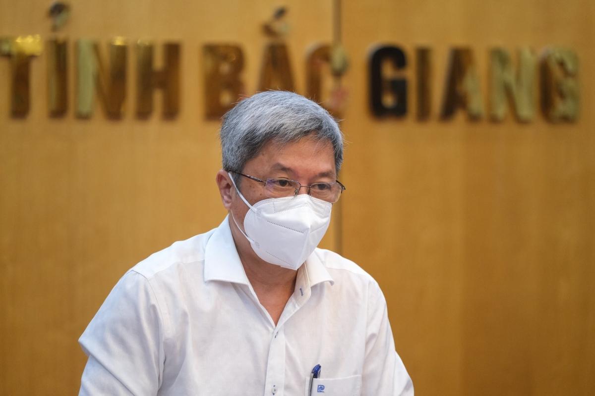 Thứ trưởng Bộ Y tế Nguyễn Trường Sơn. (Ảnh: Bộ Y tế)