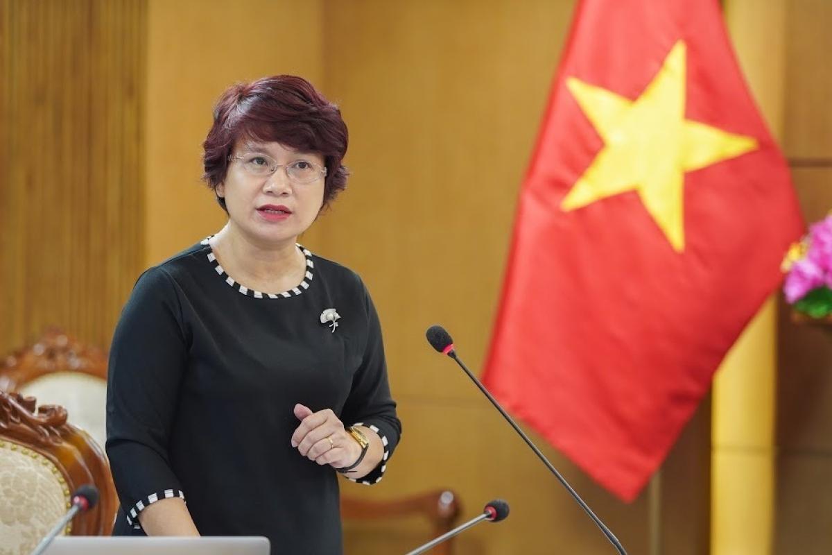Bà NguyễnThu Thủy, Vụ trưởng Vụ Giáo dục Đại học, Bộ GD-ĐT.