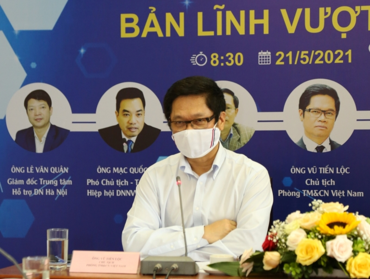 Ông Vũ Tiến Lộc, Chủ tịch Phòng Thương mại và Công nghiệp Việt Nam (VCCI).