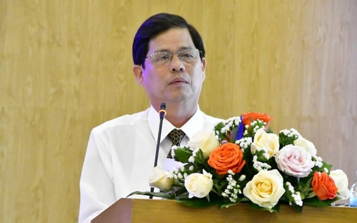 Ông Nguyễn Tấn Tuân - Chủ tịch UBND tỉnh Khánh Hòa