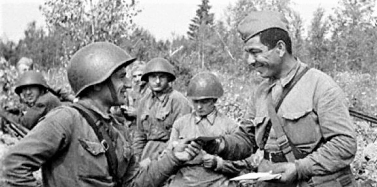 Quân Đức đã phải khiếp sợ phẩm chất, lòng dũng cảm và chủ nghĩa anh hùng cách mạng của các chiến sĩ Hồng quân; Nguồn: topnewsrussia.ru