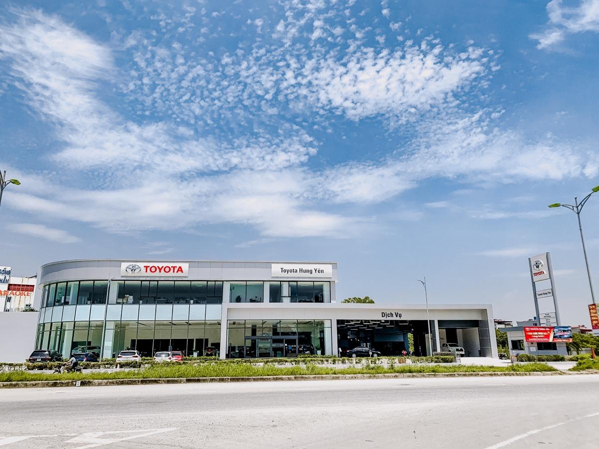 Đại lý Toyota Hưng Yên.