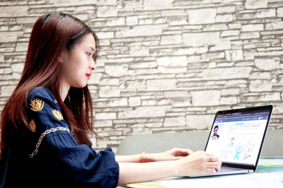 Học sinh sẽ chuyển sang thi trực tuyến trong mùa dịch. (Ảnh minh họa, nguồn: KT)