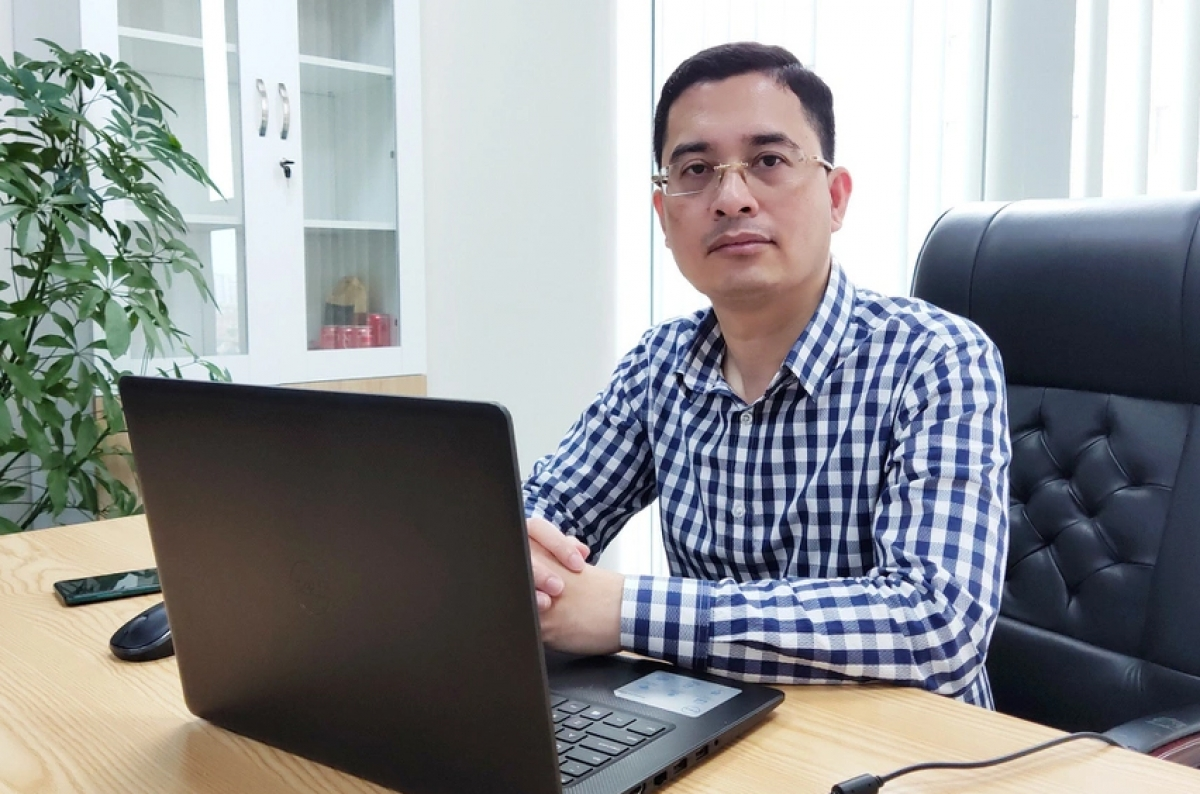 Ông Hoàng Chí Trung, Quyền Phó TGĐ Kinh doanh VinFast.