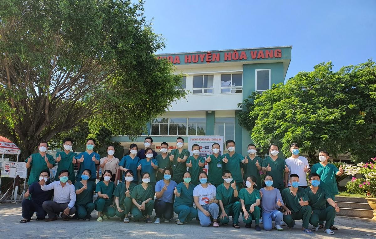 Trung tâm y tế Hòa Vang hoàn thành tốt nhiệm vụ điều trị bệnh nhân COVID-19 cuối năm ngoái.