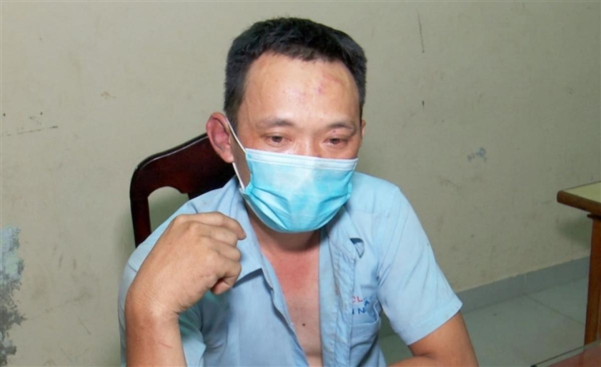 Tài xế Nguyễn Văn Tuấn.