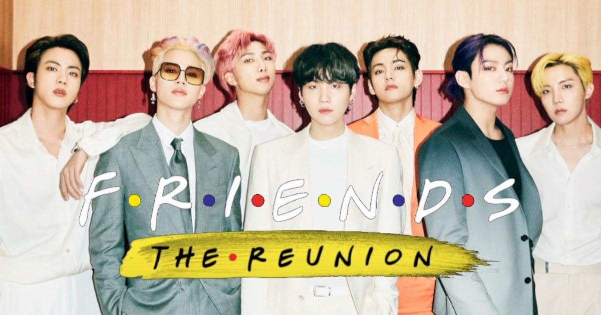 """BTS là khách mời của""""Friends: The Reunion""""."""