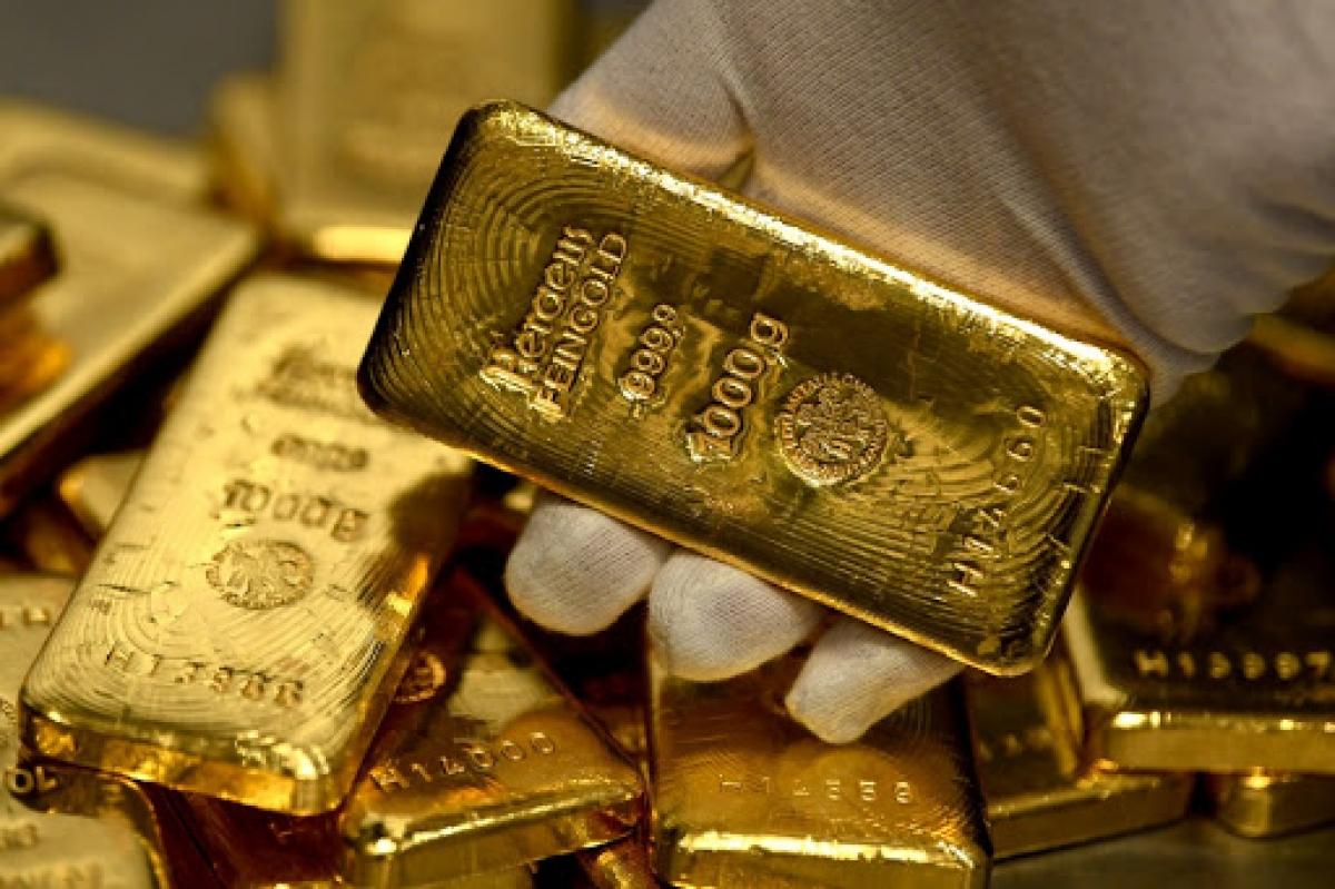 Giá vàng trong nước và thế giới tiếp tục tăng. (Ảnh: KT)