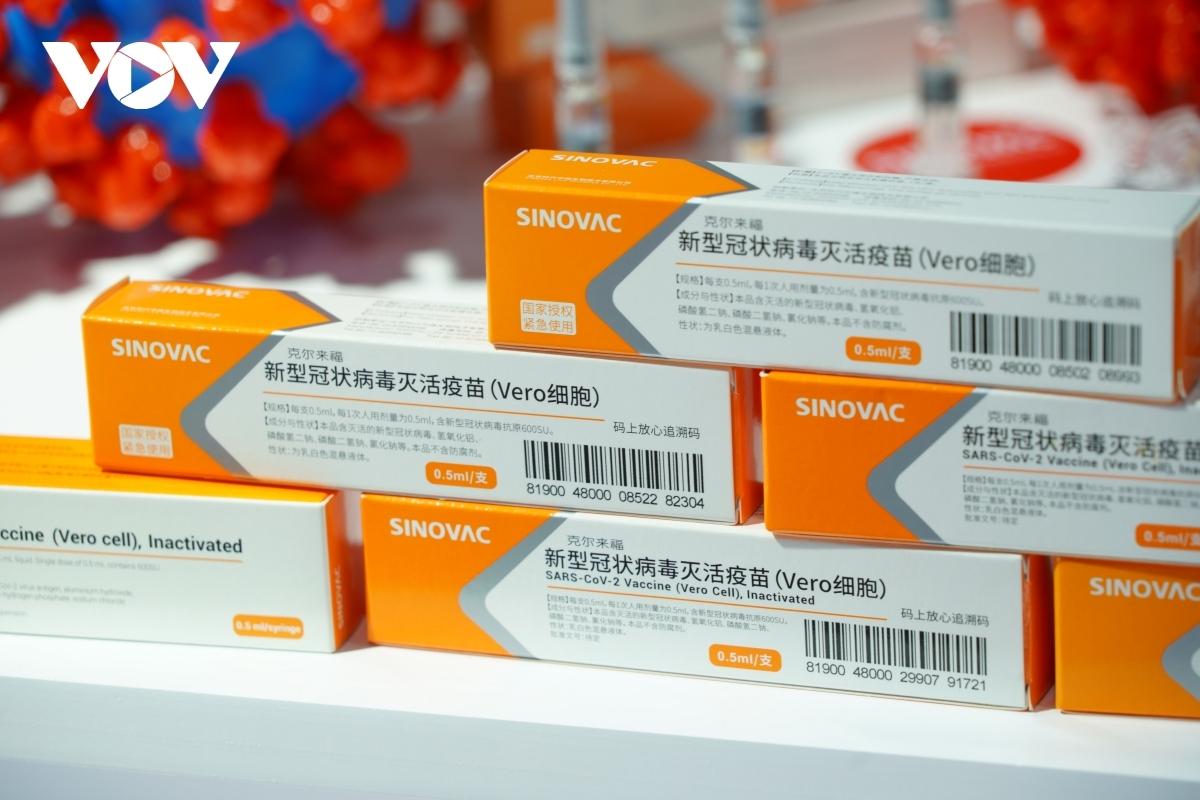 Vaccine Covid-19 của Sinovac.