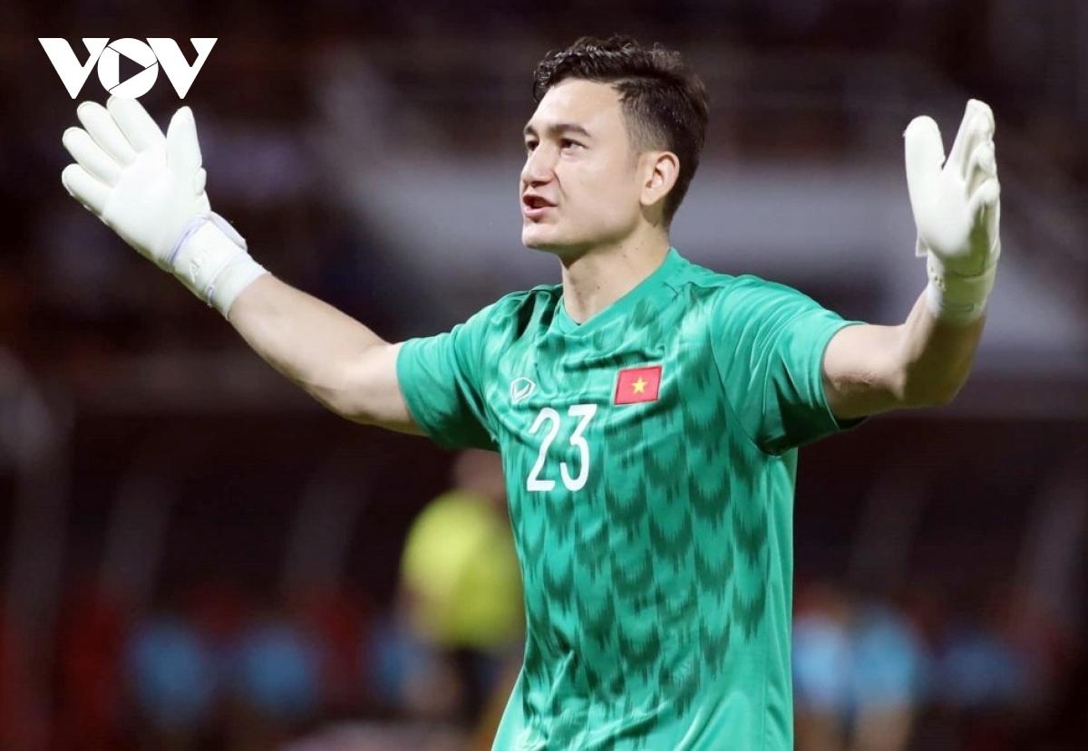 ĐT Việt Nam sẽ không có sự phục vụ của Đặng Văn Lâm trong 3 trận cuối vòng loại thứ hai World Cup 2022 khu vực châu Á. (Ảnh: Trần Tiến).