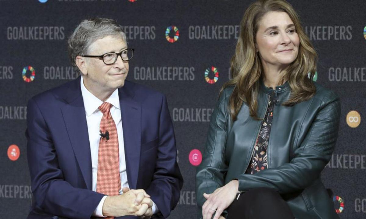 Tỷ phú Bill Gates vừa tuyên bố sẽ ly hôn sau 27 năm chung sống với vợ là bà Melinda Gates. (Ảnh: Forbes)