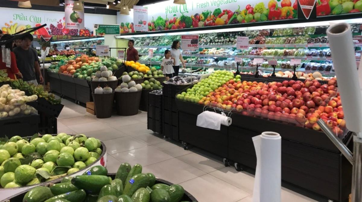 Tại các siêu thị, hàng hóa lại dồi dào, giá cả không tăng so với trước kỳ nghỉ lễ 30/4-1/5