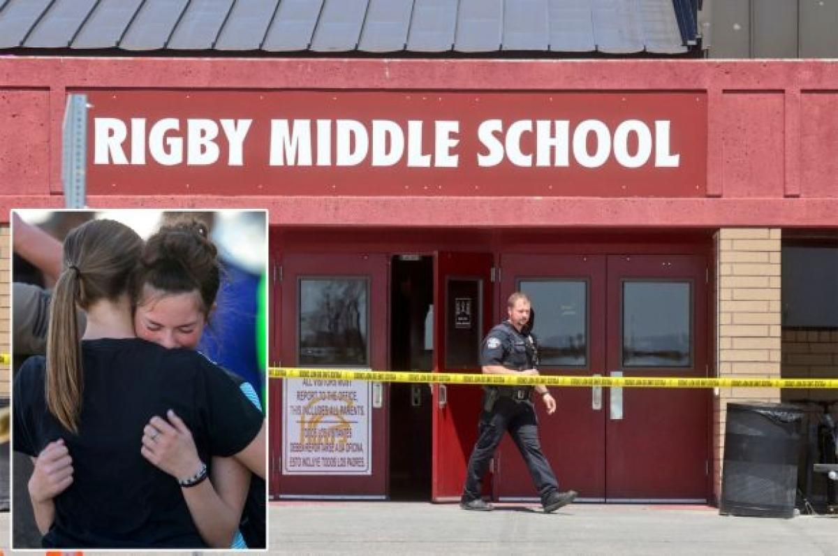 Trường học nơi xảy ra vụ xả súng. Ảnh: New York Post
