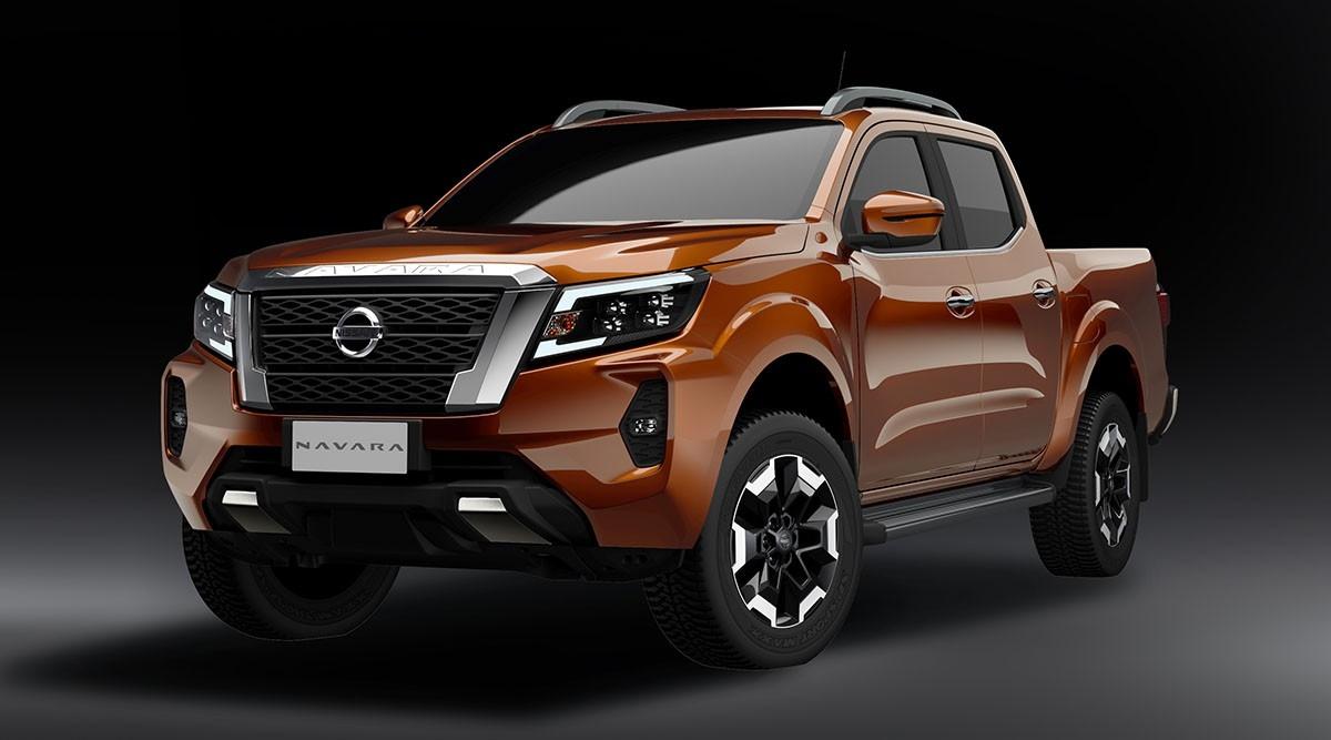 Nissan Navara 2021 với ngoại hình ấn tượng.