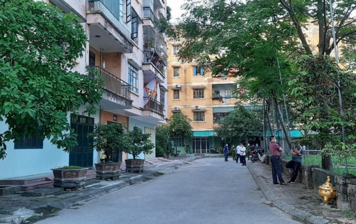 Khu vực chung cư nơi anh Th. sinh sống ở phường Đông Vệ, thành phố Thanh Hóa. (Ảnh: Dân Trí)