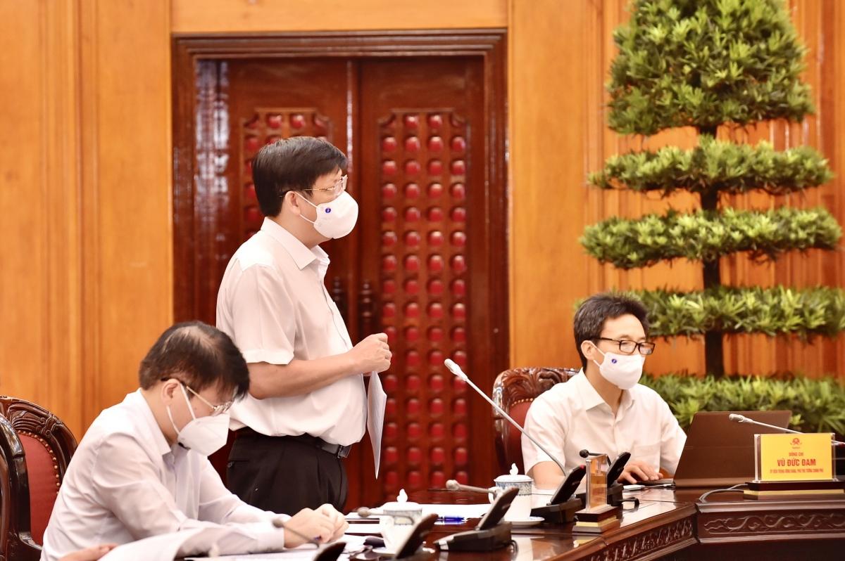 Bộ trưởng Bộ Y tế Nguyễn Thanh Long cho biết đến ngày 13/5, cả nước đã triển khai tiêm vaccine được hơn 969.000 liều, đạt tỷ lệ 106%.
