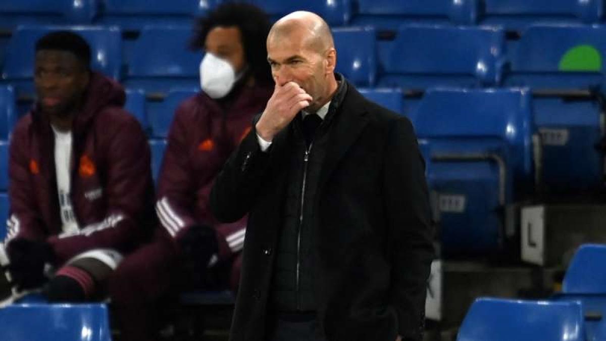 HLV Zidane thừa nhận Chelsea vượt trội Real Madrid (Ảnh: Getty).