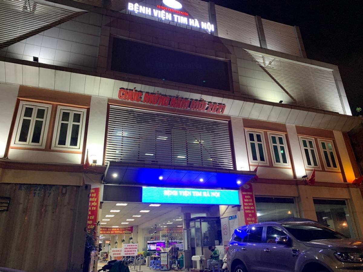 Bệnh viện Tim Hà Nội (Ảnh minh họa: KT)