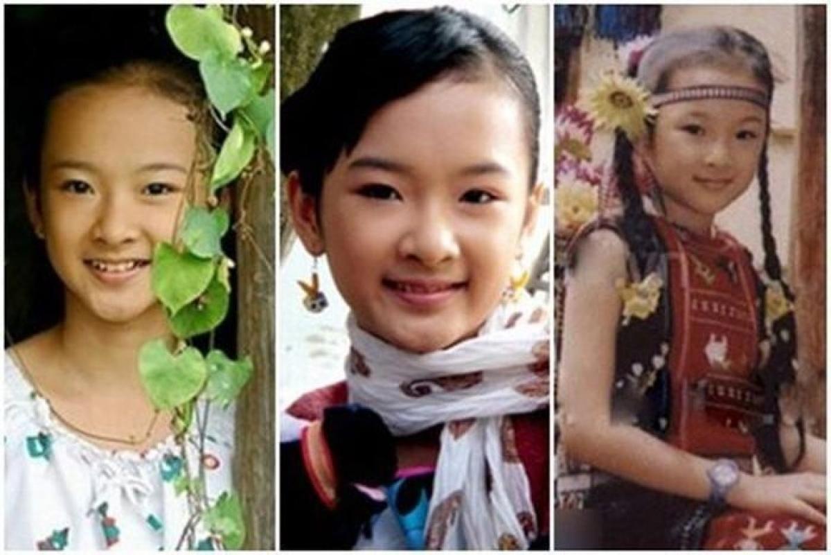 Angela Phương Trinh nổi tiếng khi còn rất nhỏ.