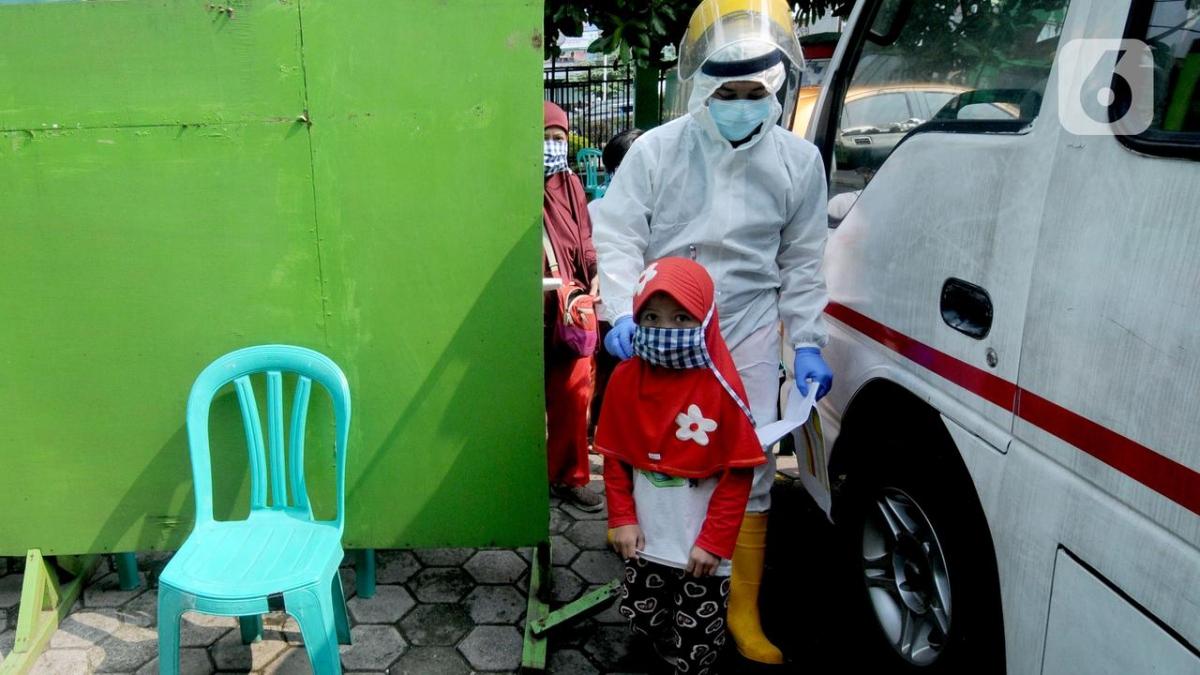 Xu hướng lây nhiễm đối với trẻ em Indonesia đang tăng cao. (Nguồn : Merdeka)