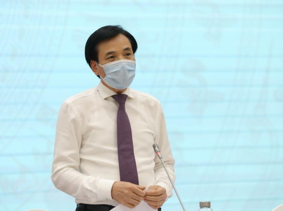 Bộ trưởng, Chủ nhiệm Văn phòng Chính phủ Trần Văn Sơn. (Ảnh: Văn Điệp/TTXVN)