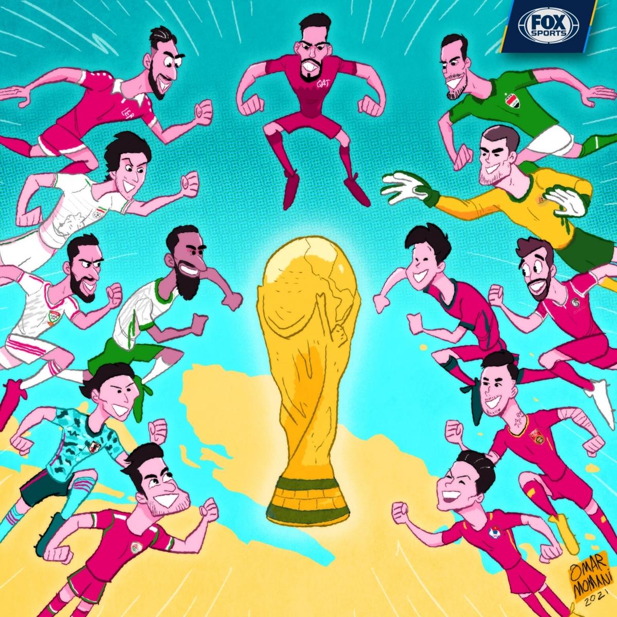 Vòng loại thứ ba World Cup 2022 chuẩn bị bắt đầu. (Ảnh: Omar Momani)./.