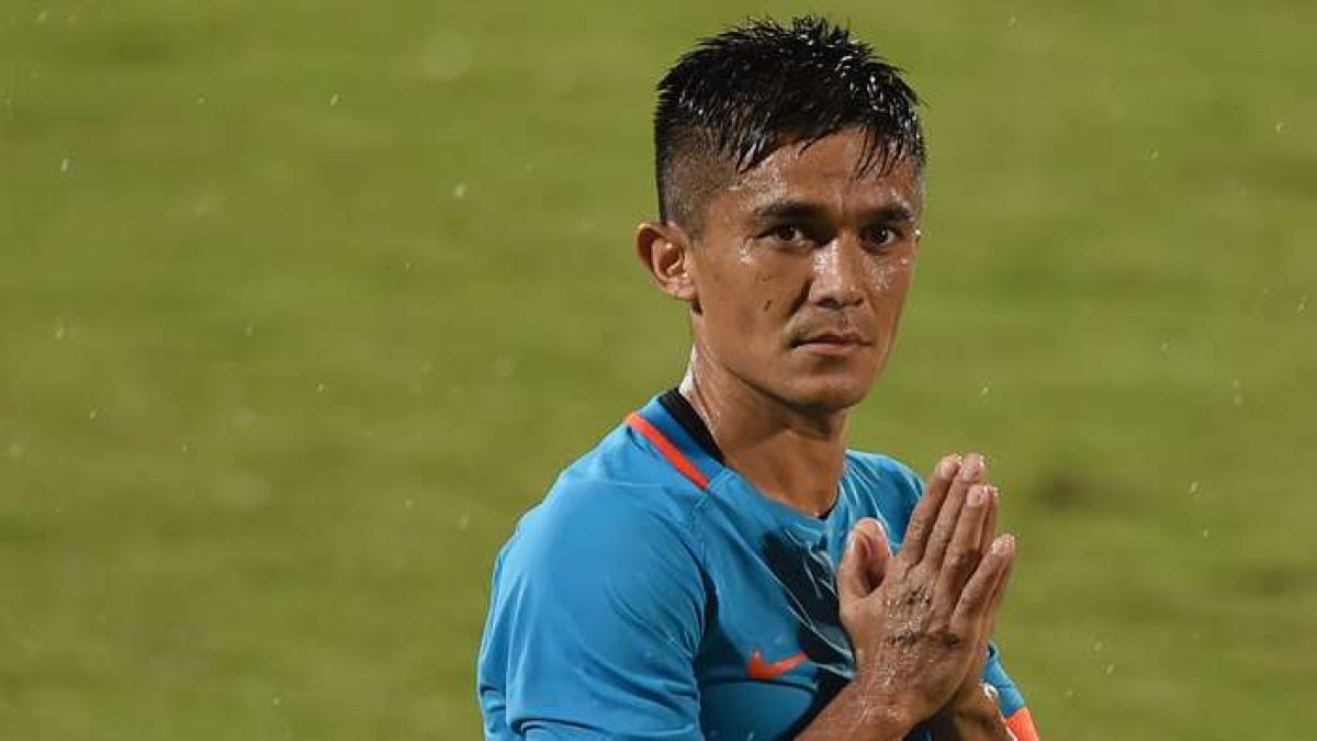 10. Sunil Chhetri | Ấn Độ| 72 bàn thắng/115 trận đấu