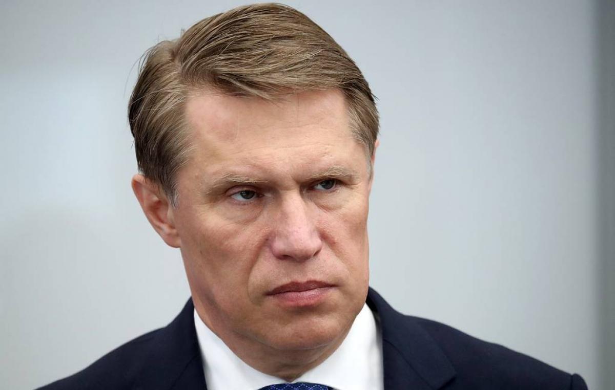 Bộ trưởng Bộ Y tế Liên bang Nga Mikhail Murashko. Nguồn: Tass