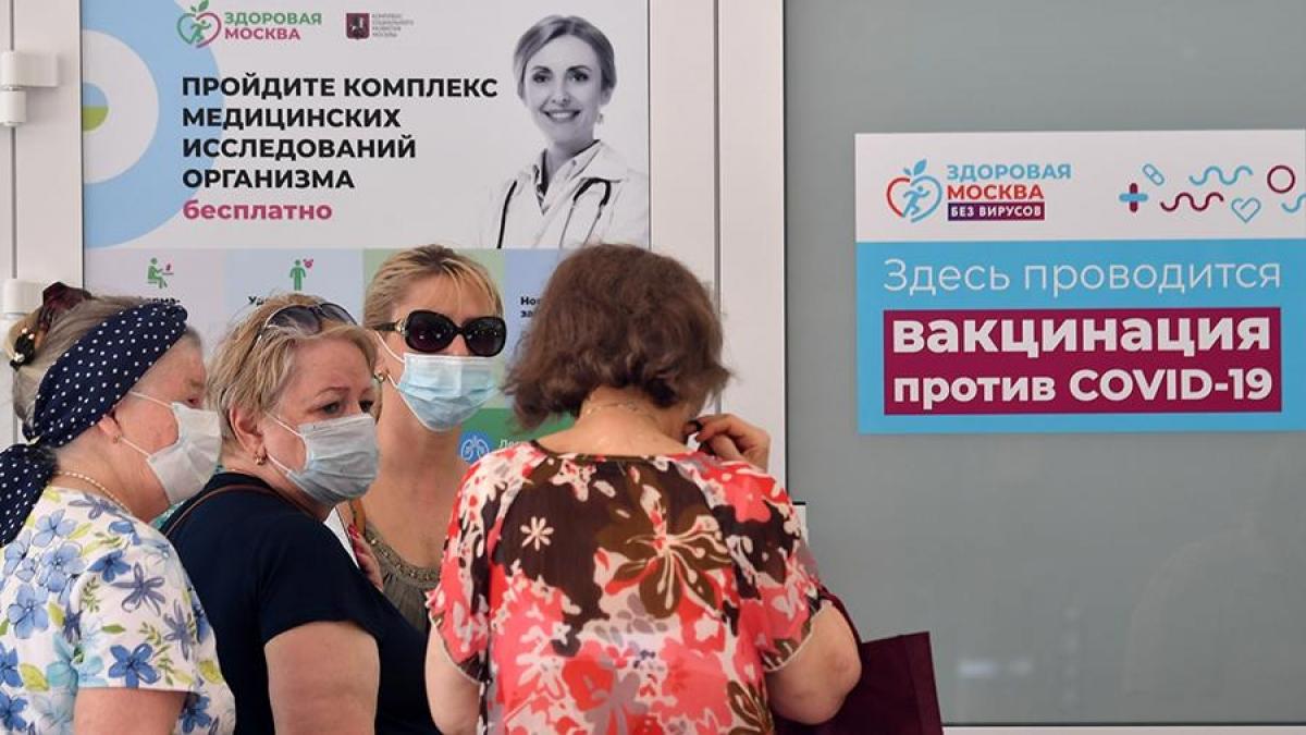 Moscow ghi nhận số người đăng ký tiêm vaccine kỷ lục trong 1 ngày. Ảnh: Ria Novosti