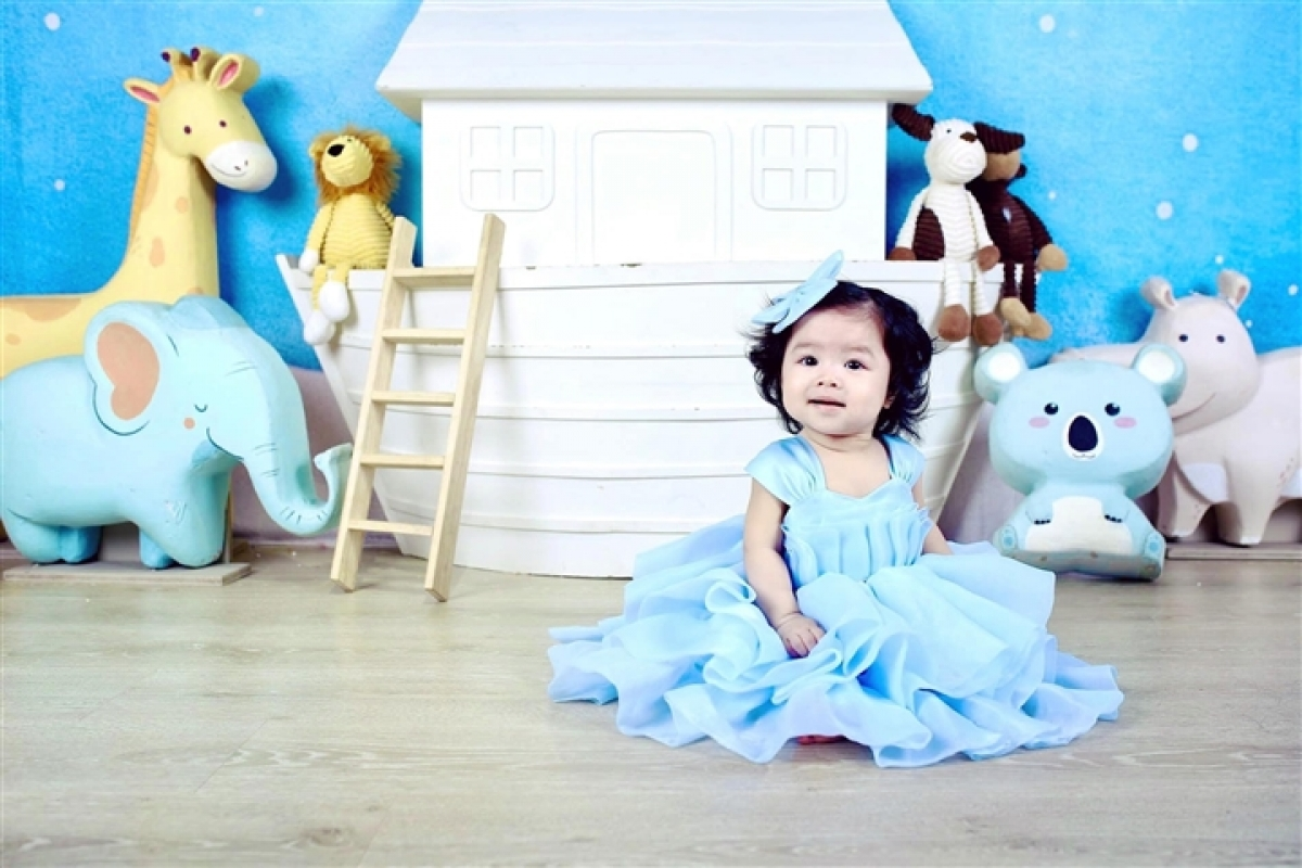 Những hình ảnh đáng yêu của Kendall Trần.