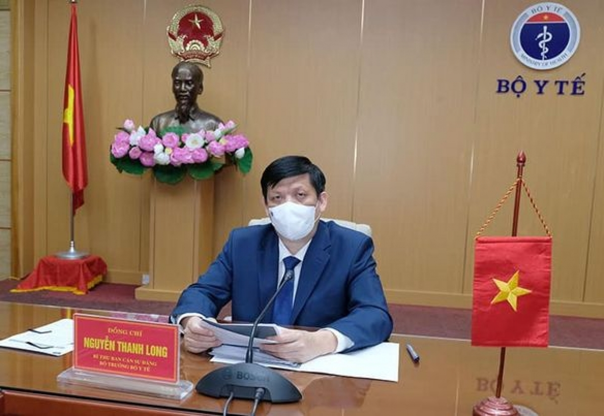 Minister of Health Nguyen Thanh Long