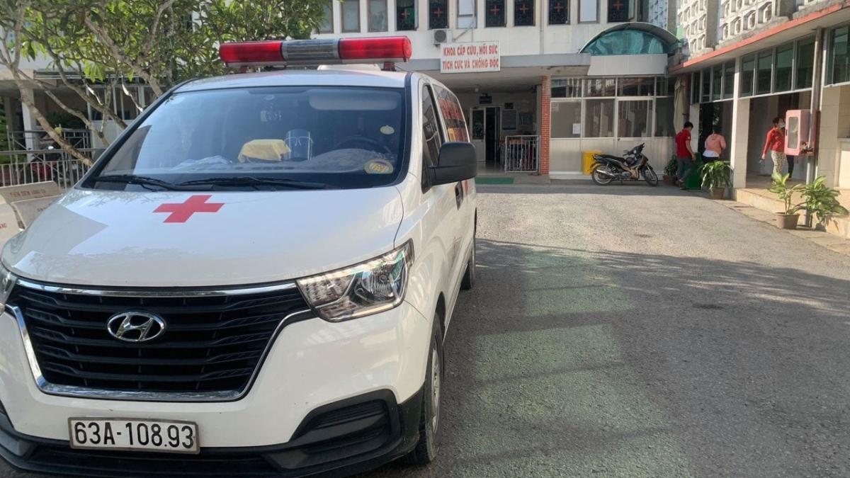 Bệnh viện đa khoa khu vực Cai Lậy- nơi tiếp nhận cách ly các ca nghi nhiễm tại ổ dịch xã Mỹ Hạnh Đông