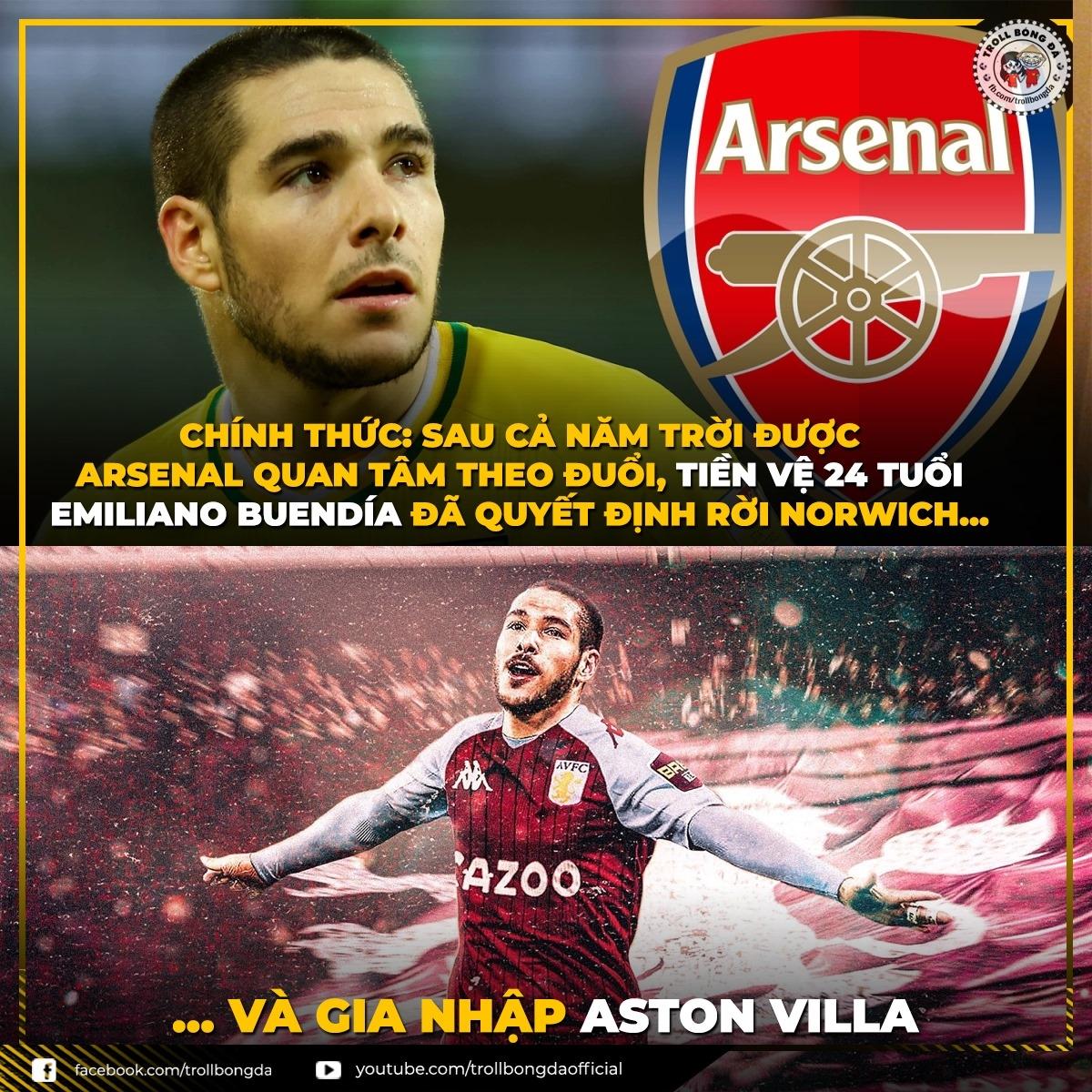 Arsenal thêm một lần đau. (Ảnh: Troll Bóng Đá)