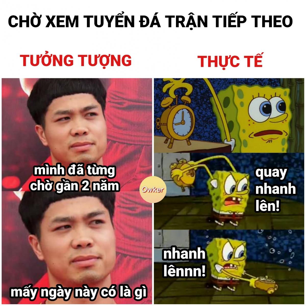 Người hâm mộ nóng lòng cổ vũ ĐT Việt Nam. (Ảnh: Owker)