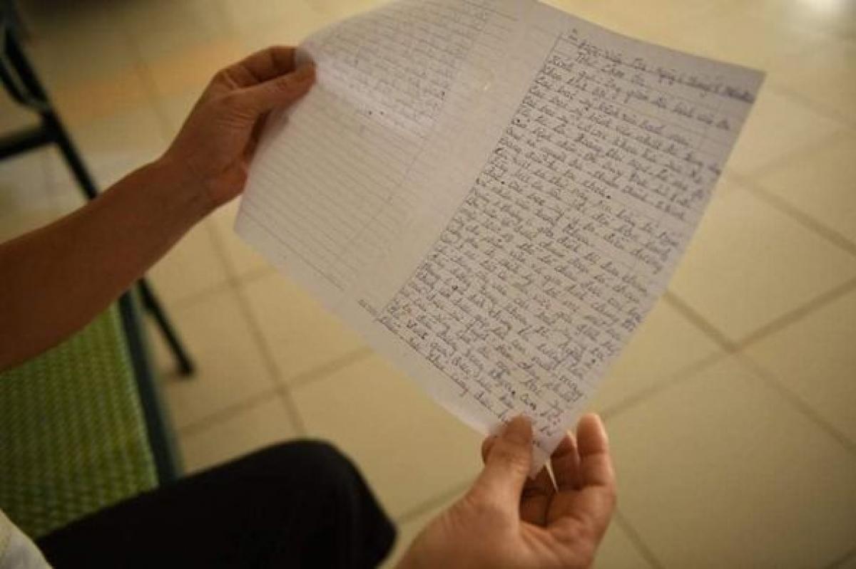 Bức thư đầy xúc động của người mẹ gửi các y bác sĩ.