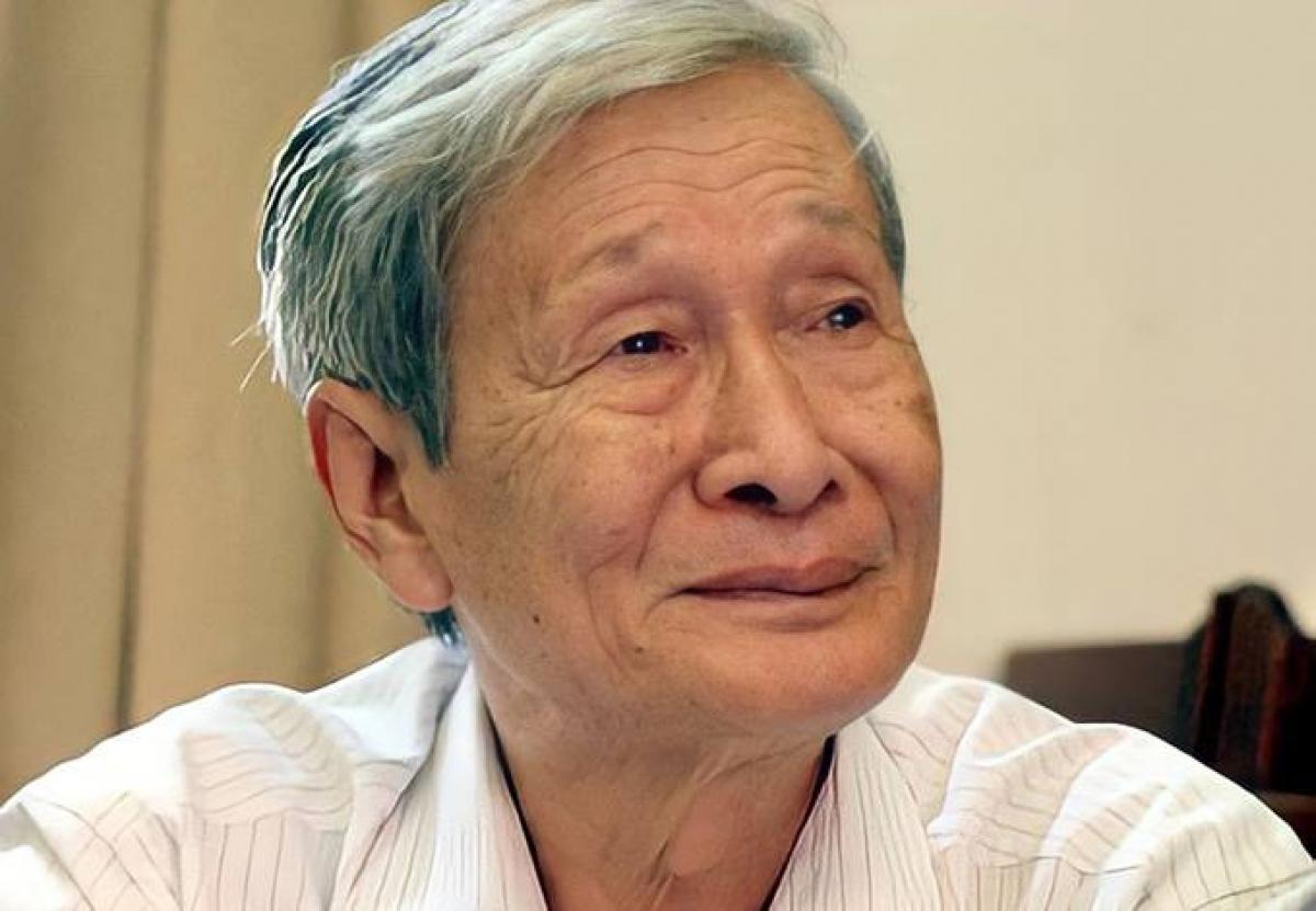 Nhà văn Nguyễn Xuân Khánh. Ảnh: Hội Nhà văn VN.