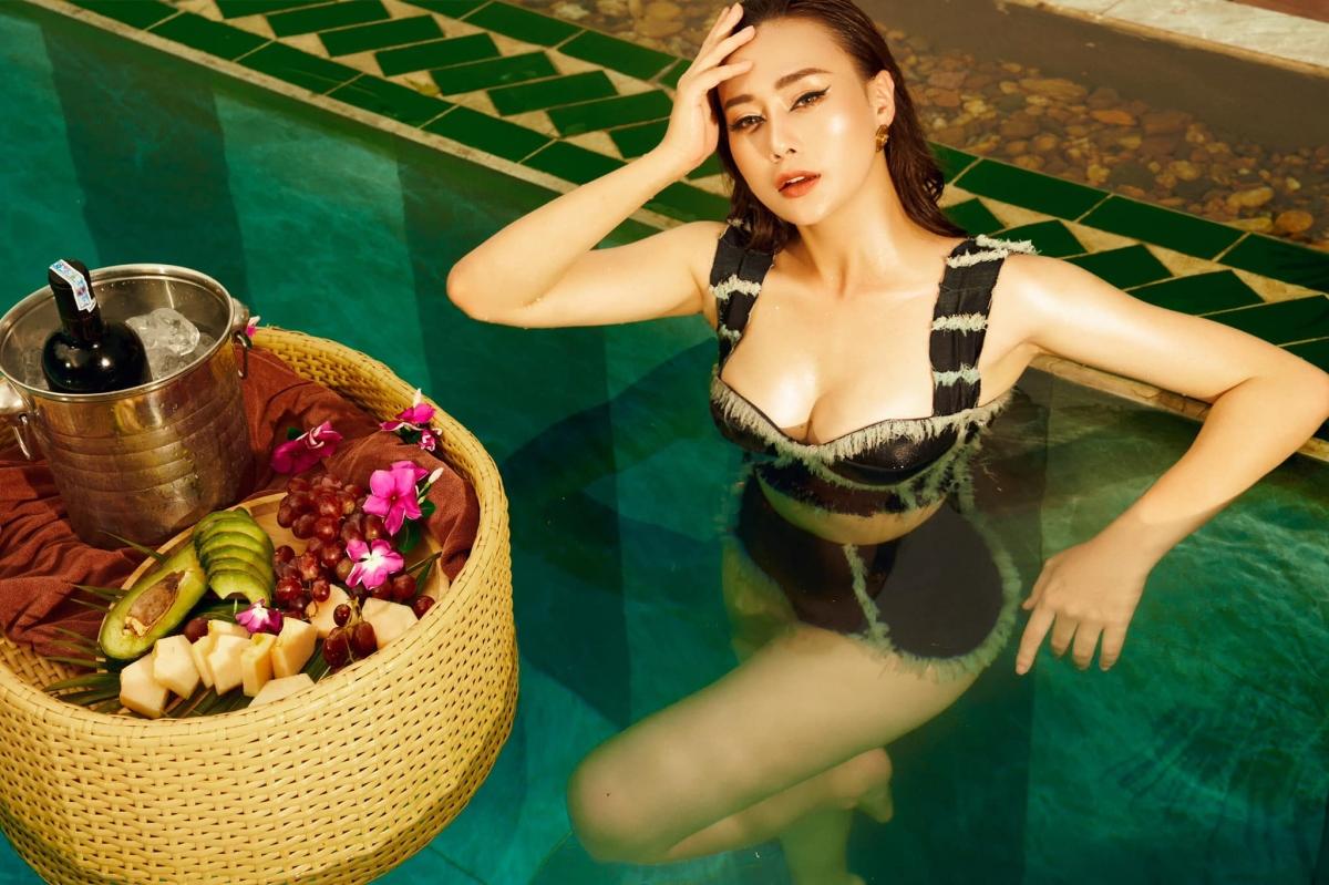 """Bộ phim """"Hương vị tình thân"""" do Phương Oanh thủ vai nữ chính đang nhận được nhiều sự chú ý từ khán giả."""
