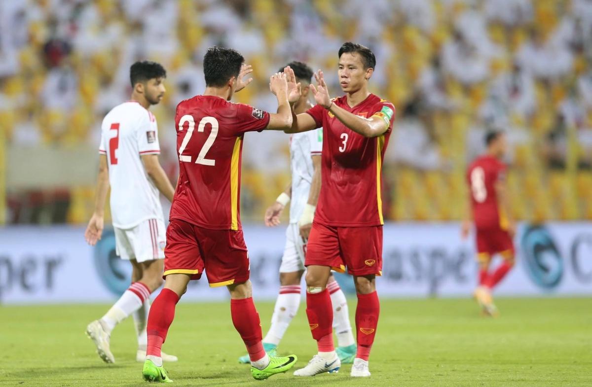 ĐT Việt Nam nhận thưởng tổng cộng 8 tỷ đồng sau thành tích vào vòng loại cuối cùng World Cup 2022. (Ảnh: CTV Yểu Mai).