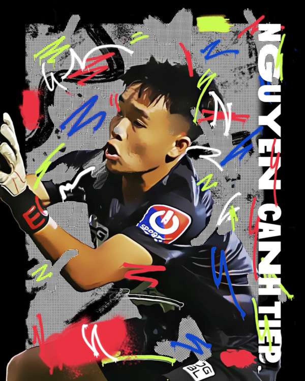 Goalkeeper Nguyen Canh Tiep(Photo: GOAL)