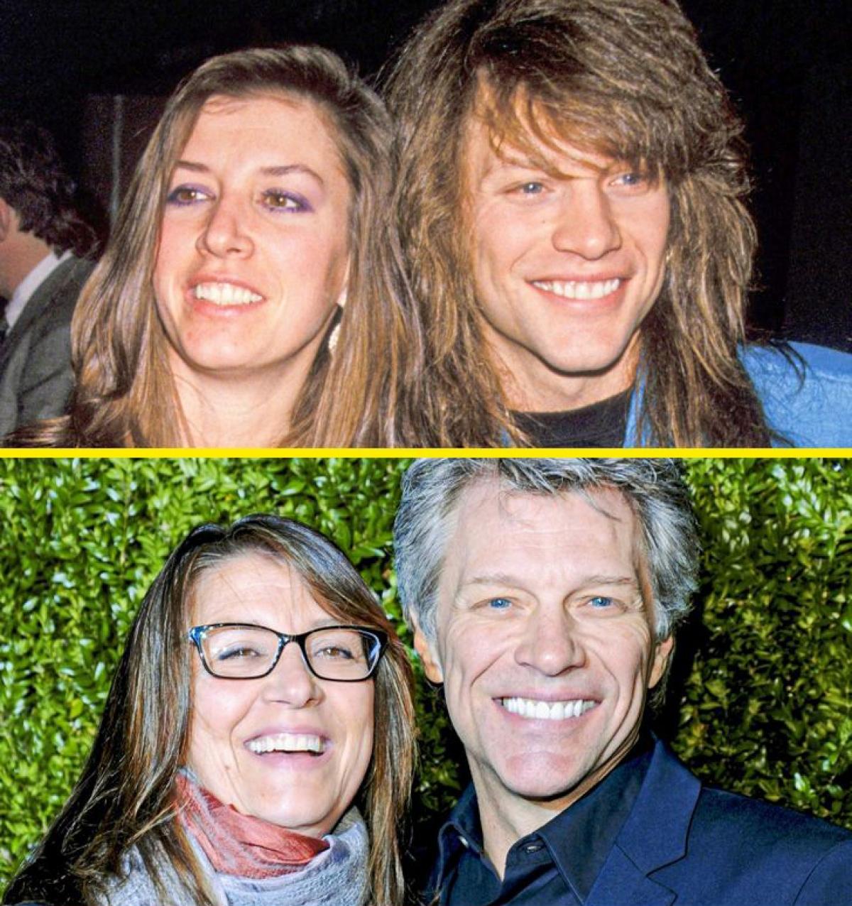 Jon Bon Jovi và Dorothea Hurley:Ngôi sao nhạc rock và người yêu thời trung học Dorothea kết hôn tại Las Vegasvào năm 1989. Họ đã ở bên nhau hơn 40 năm và có với nhau 4 người con.Khi được hỏi về bí quyết giữ mối quan hệ bền chặt trong nhiều năm, Bon Jovi nói rằng đó là sự tôn trọng dành cho nhau.