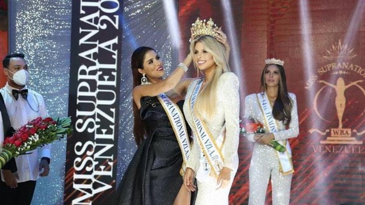 Người đẹp Valentina Sánchez đã vượt qua nhiều ứng cử viên sáng giá để giành ngôi vị cao nhất cuộc thi Hoa hậu Siêu quốc gia Venezuela.