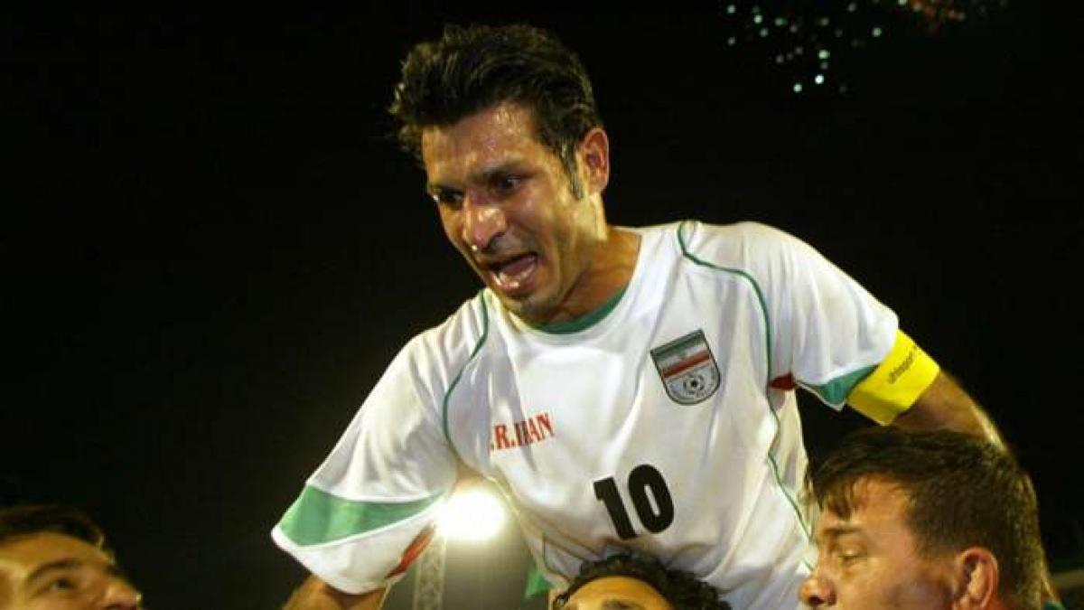 1. Ali Daei | Iran | 109 bàn thắng/149 trận đấu