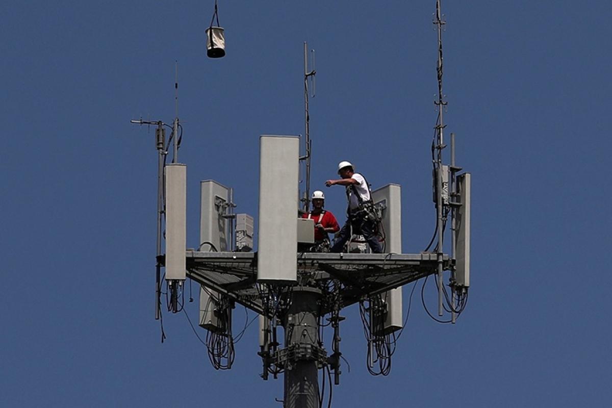 Hàn Quốc chi đậm để đón đầu công nghệ mạng 6G trong tương lai. (Ảnh: Reuters)