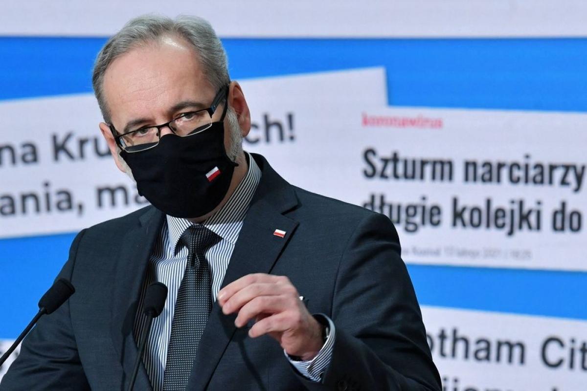 Bộ trưởng Y tế Ba Lan Adam Niedzielski (Ảnh: Thefirstnews)