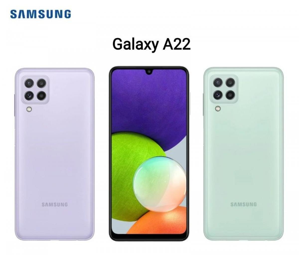 Galaxy A22 5G là chiếc điện thoại 5G rẻ nhất từ Samsung.