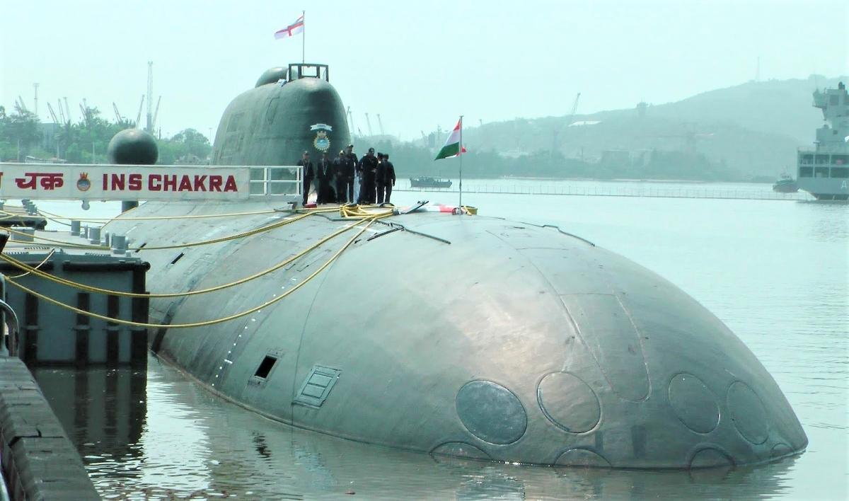 Tàu ngầm INS Chakra của Hải quân Ấn Độ; Nguồn: eurasiantimes.com