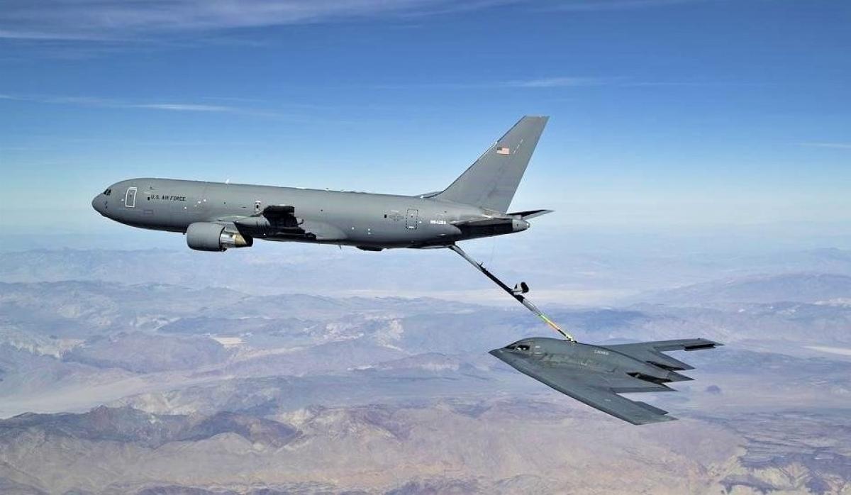 KC-46 được phá triển để tiếp liệu cho hầu hết các máy bay của Không quân Mỹ, từ máy bay chiến đấu, ném bom, đến không vận; Nguồn: forbes.com