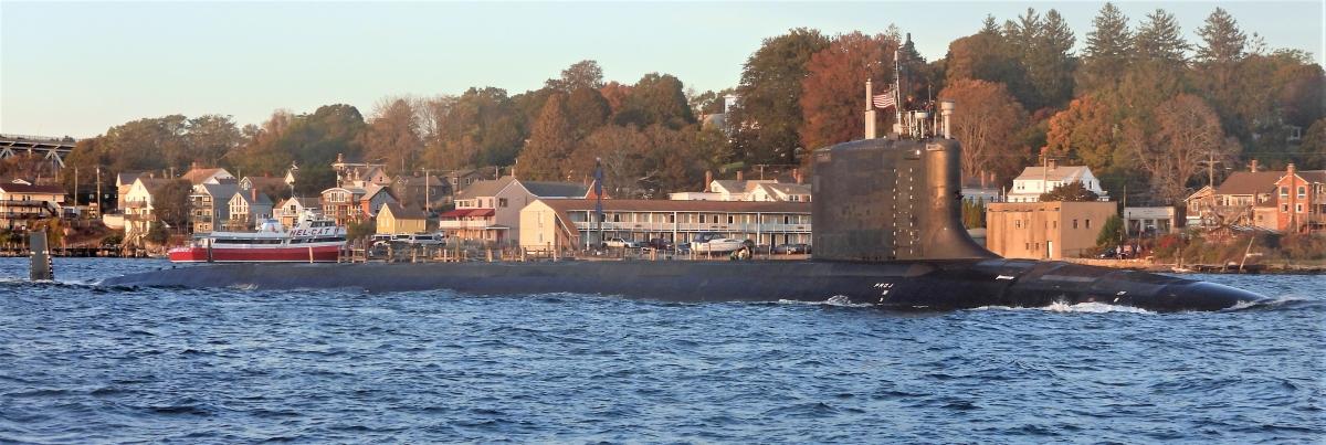 USS Vermont là tàu ngầm lớp Virginia Block IV đầu tiên; Nguồn: wikipedia.org